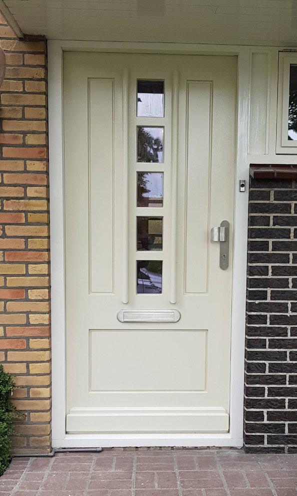 Voordeur in Aalsmeer, Noord-Holland