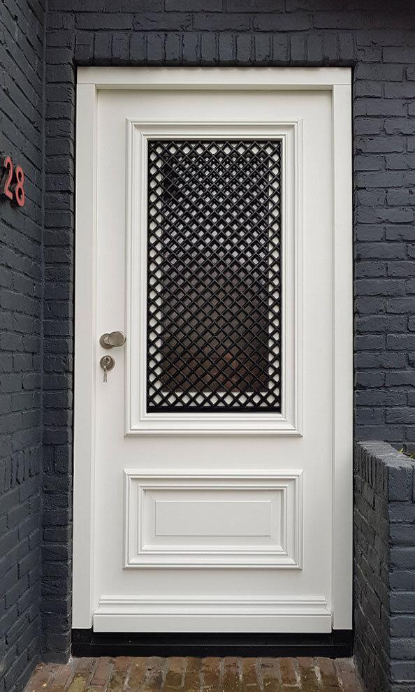 Voordeur in Alkmaar, Noord-Holland