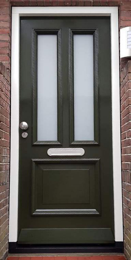 Voordeur in Alphen aan den Rijn, Zuid-Holland