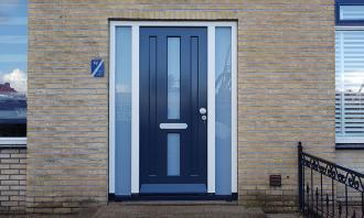 Voordeur in Assen, Drenthe