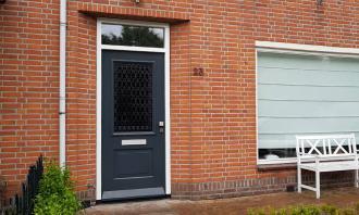 Voordeur in Hoorn, Noord-Holland