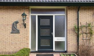 Voordeur in Monnickendam, Noord-Holland