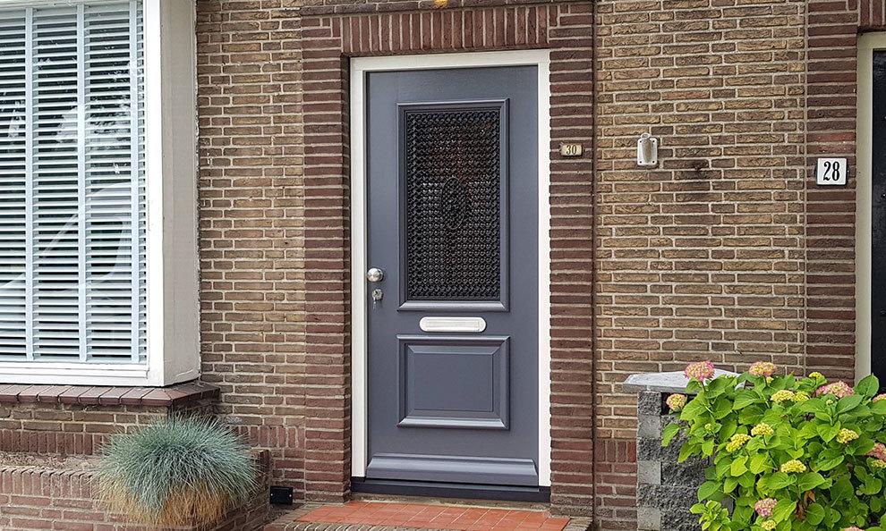 Voordeur in Veenendaal, Utrecht
