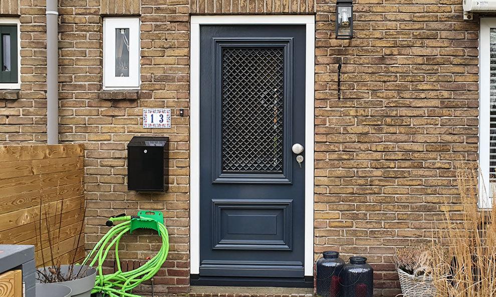 Voordeur in Mijdrecht, Utrecht